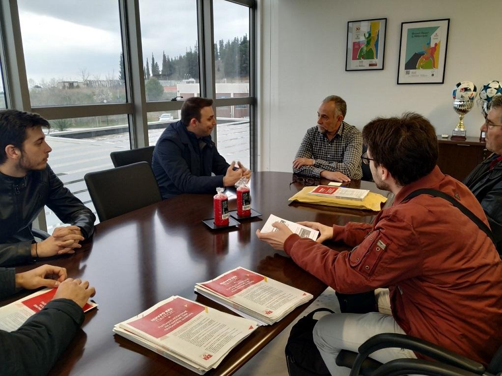 Επίσκεψη Σωτήρη Αβραμόπουλου στη ΣΕΦΑΑ(ΦΩΤΟ)