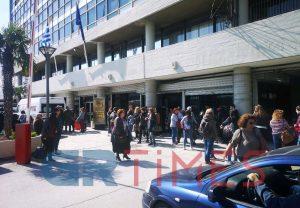 Κατάληψη στο κτίριο διοίκησης ΑΠΘ από φοιτητές του Τμήματος Φιλολογίας