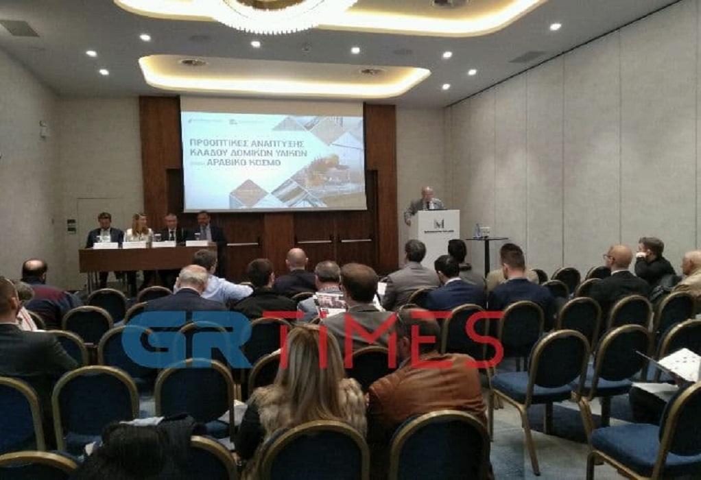 Χρυσές ευκαιρίες για τα δομικά υλικά στον Αραβικό Κόσμο