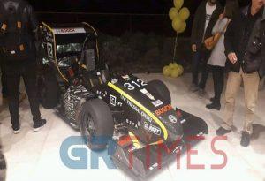 To νέο μονοθέσιο όχημα της Aristotle Racing Team (ART)