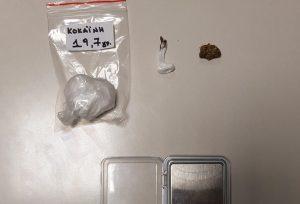 Σύλληψη δύο 26χρονων στην Κοζάνη για κατοχή κοκαΐνης