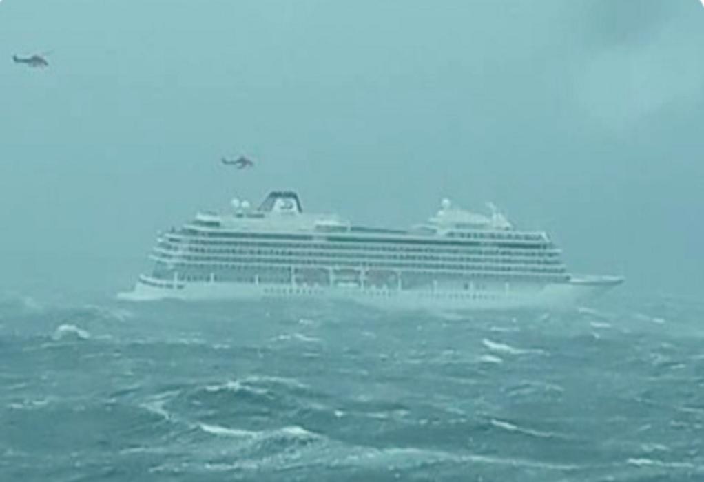 Νορβηγία: Διακόπηκε η επιχείρηση εκκένωσης του κρουαζιερόπλοιου – Ρυμουλκείται σε ασφαλές λιμάνι