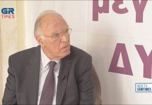Β.Λεβέντης στο GrTimes.gr: Εξίσου επικίνδυνοι Τσίπρας και Μητσοτάκης (VIDEO)