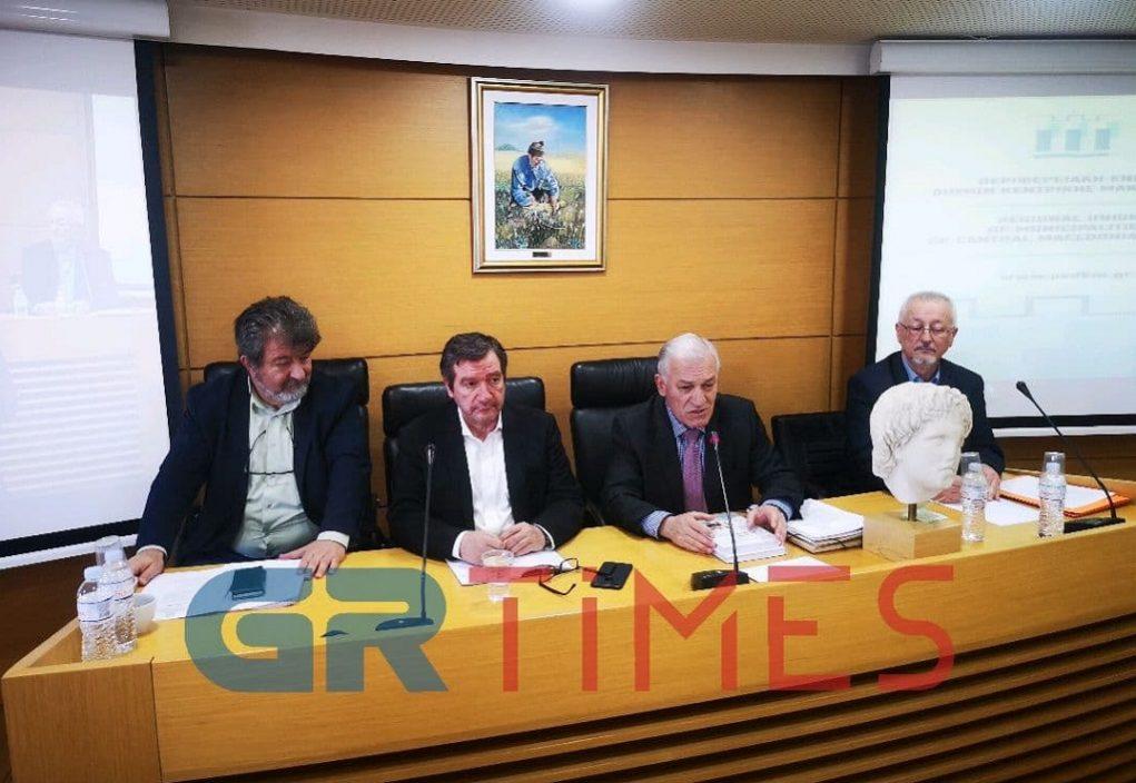 Με Γ.Καμίνη η σημερινή συνεδρίαση της Π.Ε.Δ-ΚΜ – Κριτική και παράπονα για την κυβέρνηση (ΦΩΤΟ)