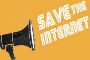 Συγκέντρωση κατά της λογοκρισίας στο Διαδίκτυο