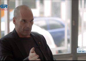 Γ.Βαρουφάκης στο GrTimes: Ο Αλ.Τσίπρας θα τιμωρηθεί στις ευρωεκλογές (VIDEO)