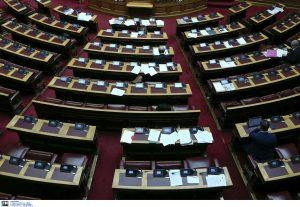 Προς ψήφιση 4 νομοσχέδια έως… την Παρασκευή