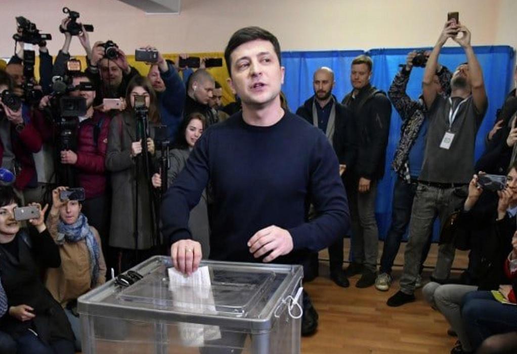 Ουκρανία-βουλευτικές εκλογές: Νίκη για το κόμμα του προέδρου Ζελένσκι