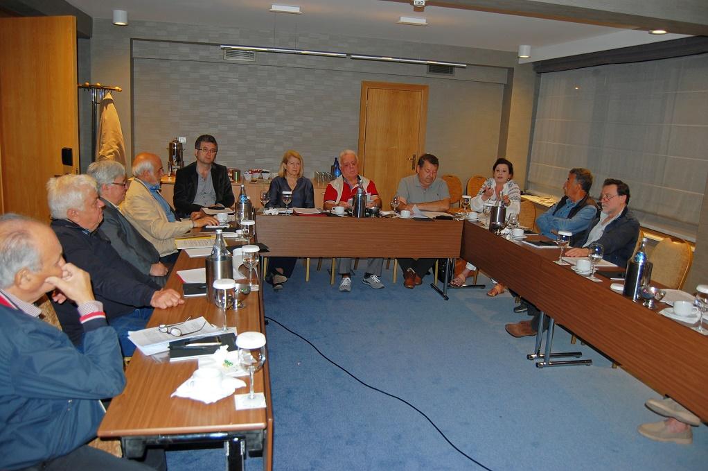 Η νέα διοίκηση του Πανελλήνιου Συλλόγου Ιαματικών Πηγών και Λουτροπόλεων Ελλάδας