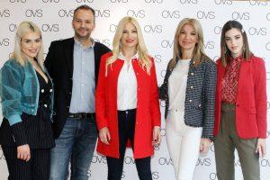 Γενέθλια της OVS στη Θεσσαλονίκη με την Φαίη Σκορδά
