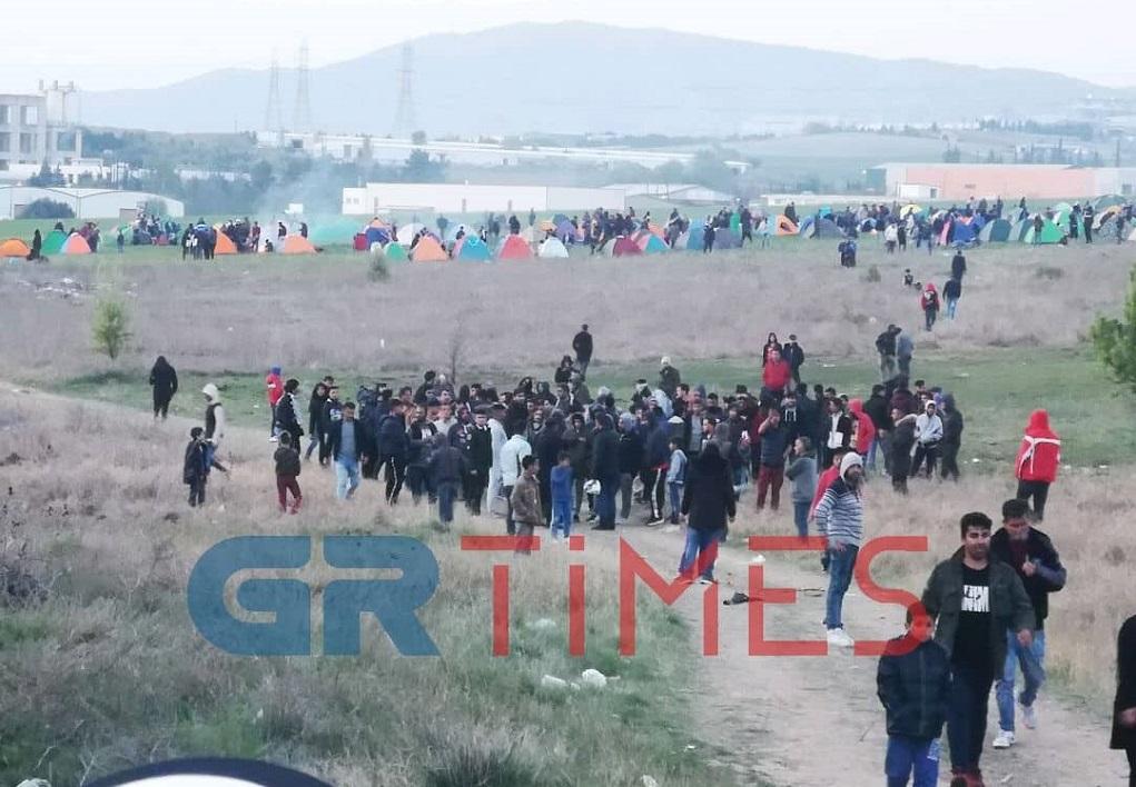 Έκκληση του Υπουργείου στους πρόσφυγες στα Διαβατά-«Να μην ξεφύγουν από τα όρια της νομιμότητας»