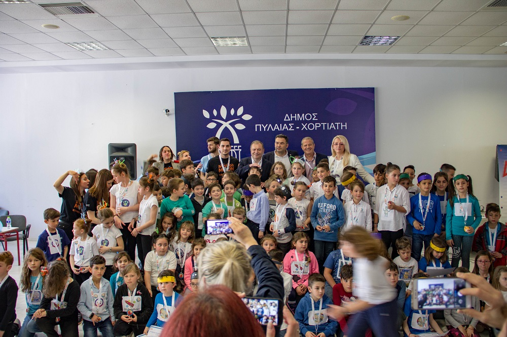 77592e3bc29 120 μαθητές ερεύνησαν το διάστημα στον δήμο Πυλαίας-Χορτιάτη