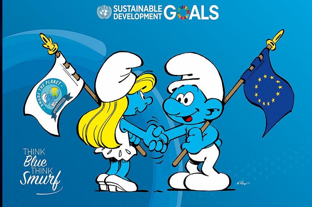 ΕΕ: Τα Στρουμφ στη μάχη για τον γαλάζιο πλανήτη