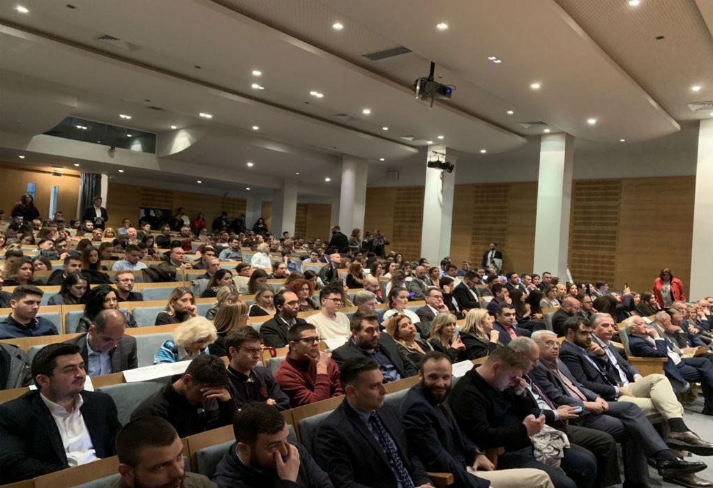 Εκδήλωση της ΟΝΝΕΔ Θεσσαλονίκης για τις εκλογές