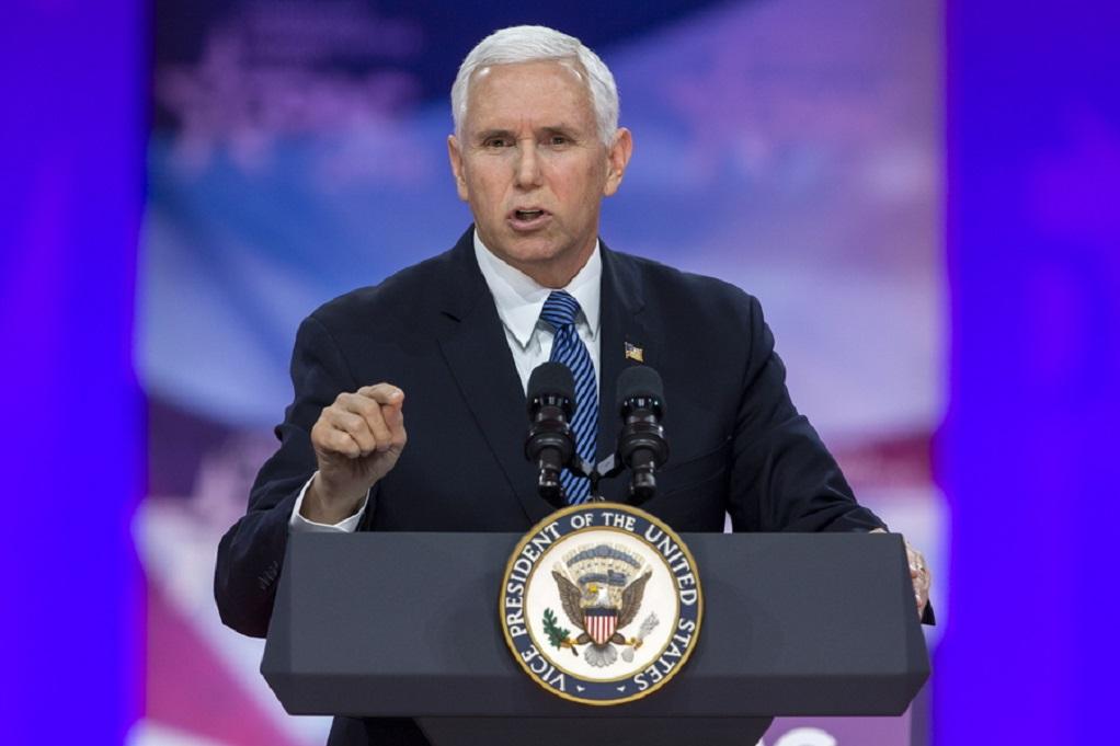ΗΠΑ: Ο Πενς για το σύνθημα «στείλτην πίσω»