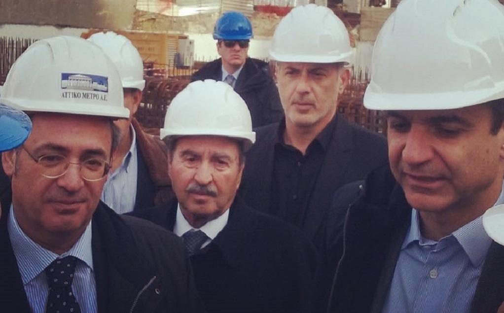 """""""Είδηση τελευταίας στιγμής! Ο Κυριάκος Μητσοτάκης στα έργα Μετρό Θεσσαλονίκης!"""""""