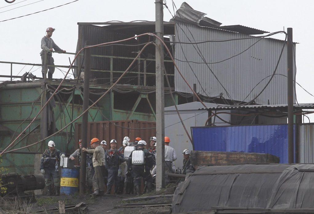 Πολύνεκρο δυστύχημα σε ορυχείο στην Ουκρανία