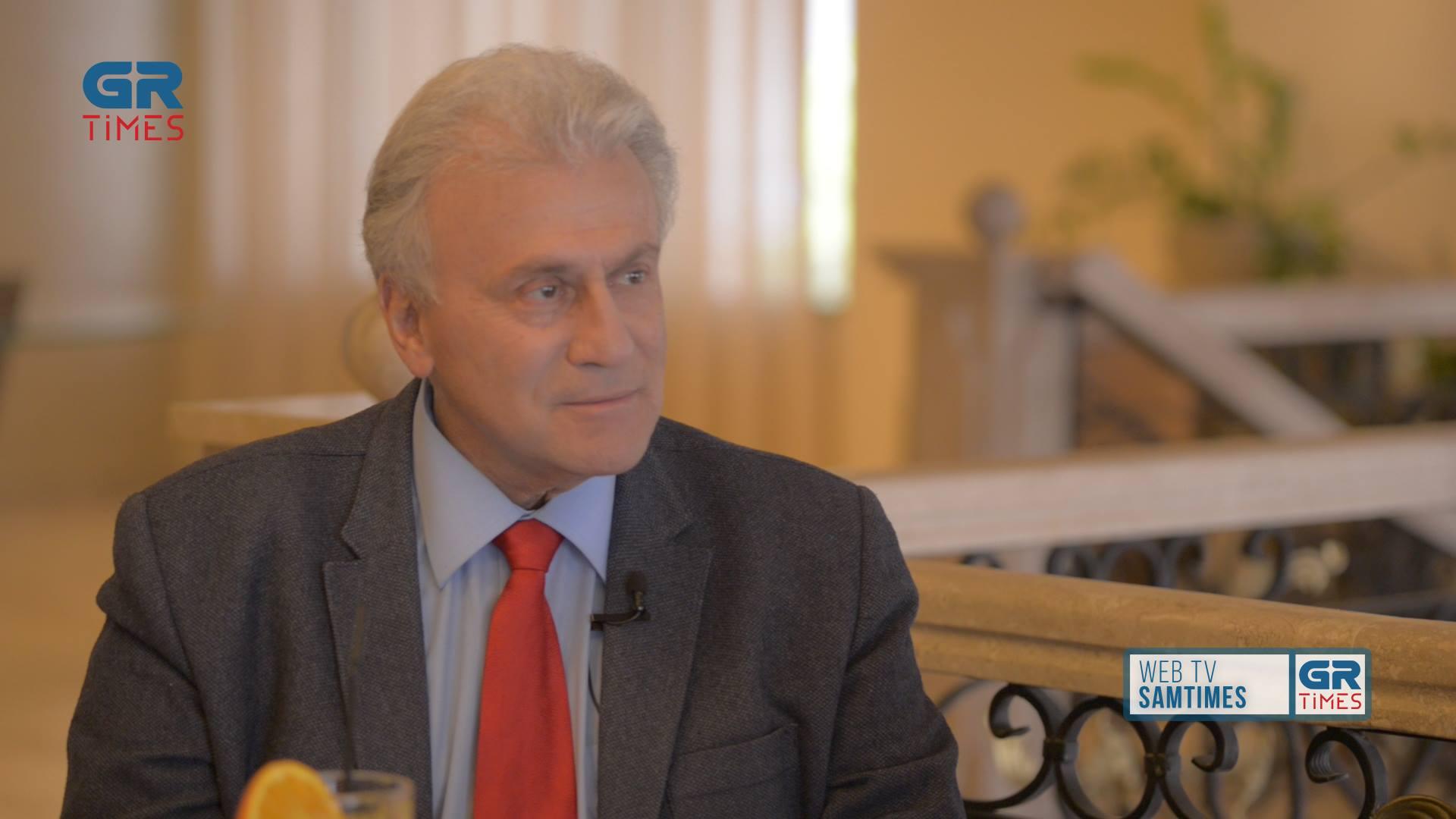 Π. Ψωμιάδης στο GrΤimes: Τίποτα δεν έχει τελειώσει με το θέμα της Μακεδονίας