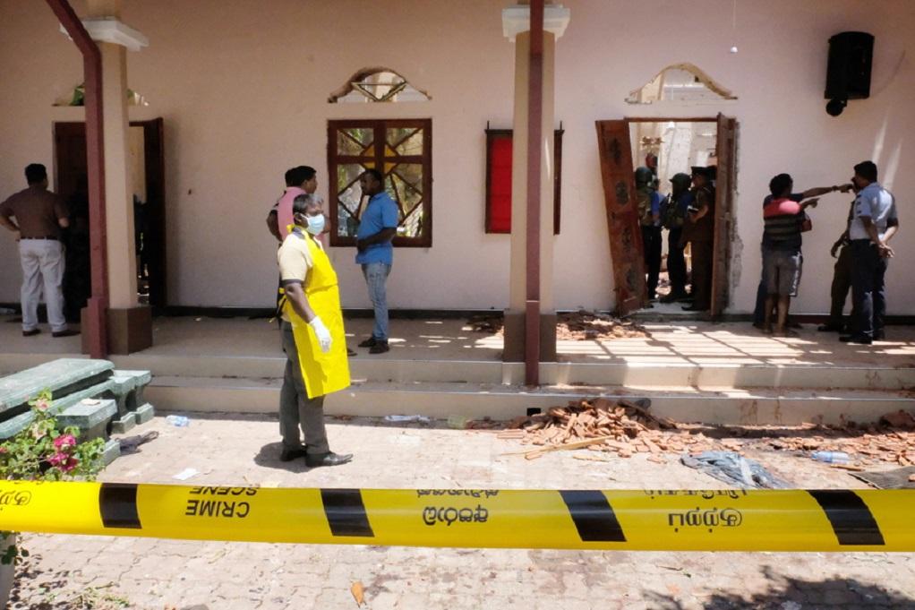 Σρι Λάνκα: Δεν προκλήθηκαν τραυματισμοί από την έκρηξη κοντά σε εκκλησία