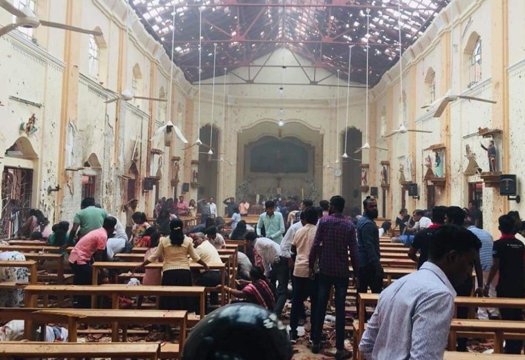 Σρι Λάνκα: Πάνω από 150 νεκροί από τις εκρήξεις