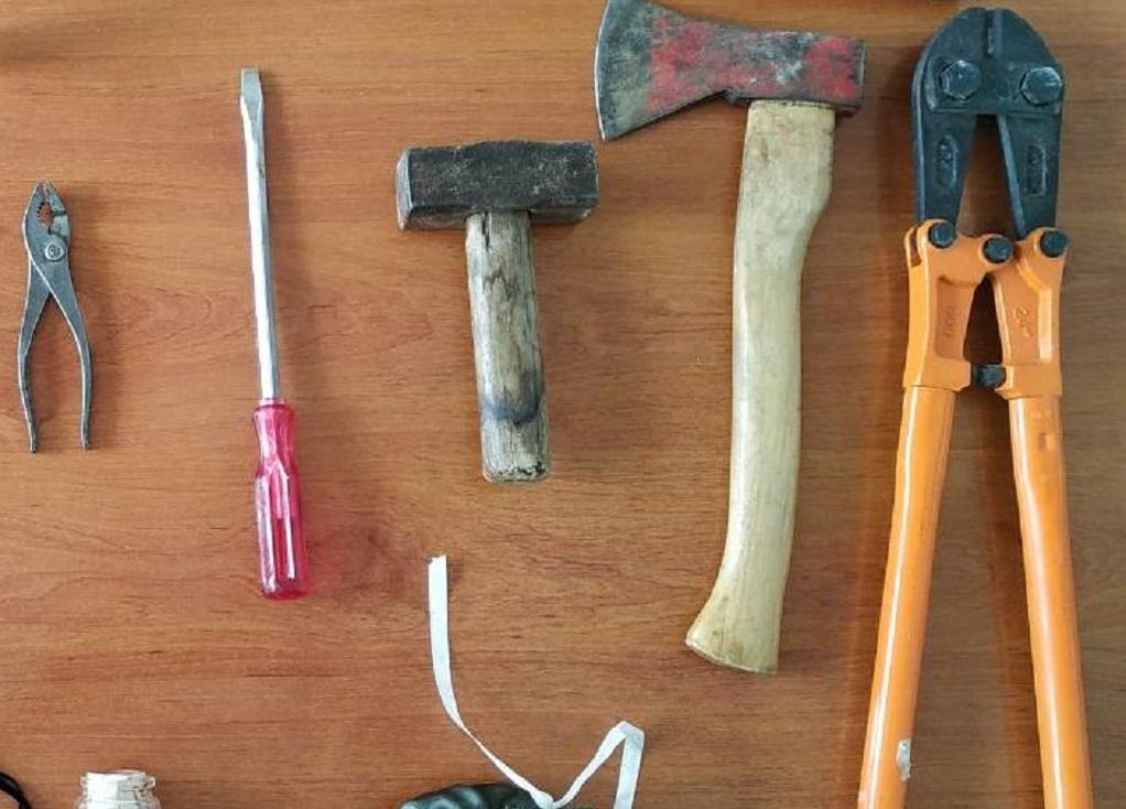 Σέρρες: Συνελήφθησαν για περισσότερες από 25 κλοπές (ΦΩΤΟ)