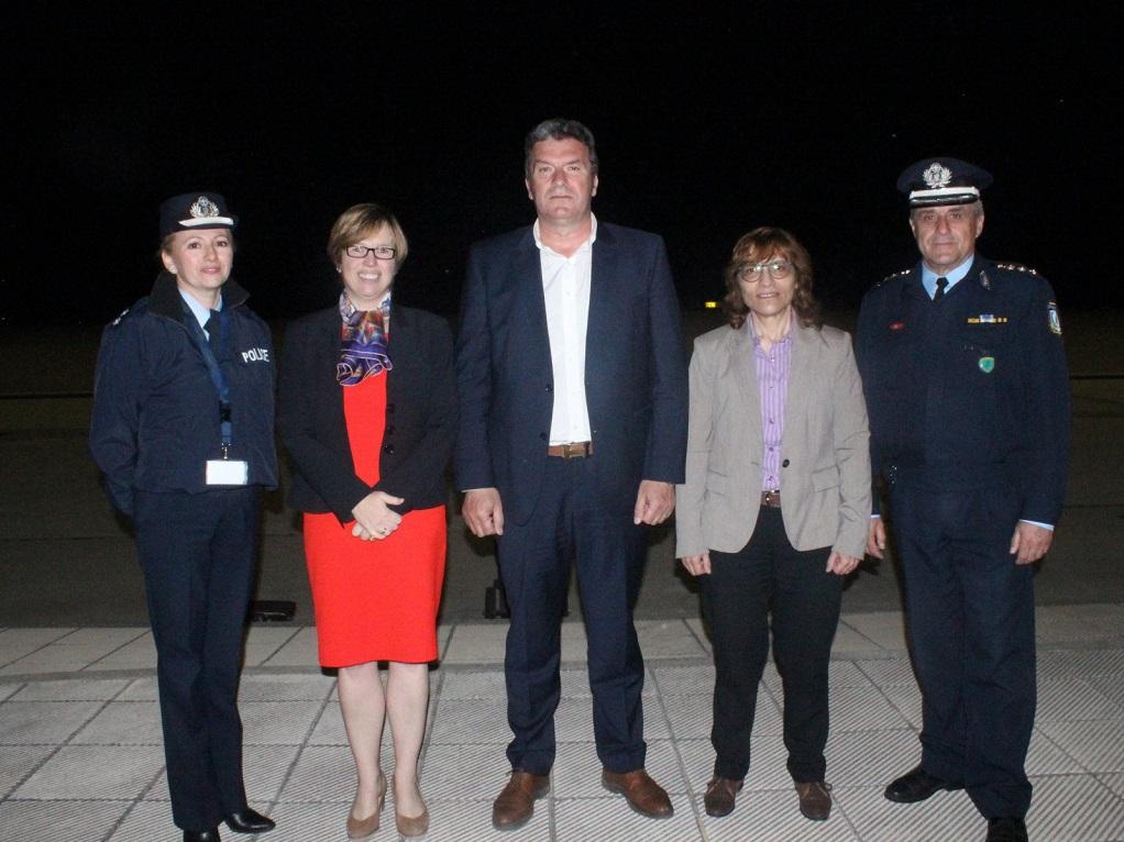 Επίσημη επίσκεψη της Εκτελεστικής Διευθύντριας της EUROPOL στον Έβρο (ΦΩΤΟ)