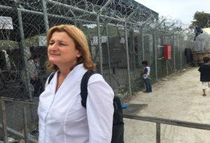 Επίσκεψη της υπ.ευρωβουλευτή της ΝΔ, Καλυψώς Γούλα στην Λέσβο και τις δομές προσφύγων