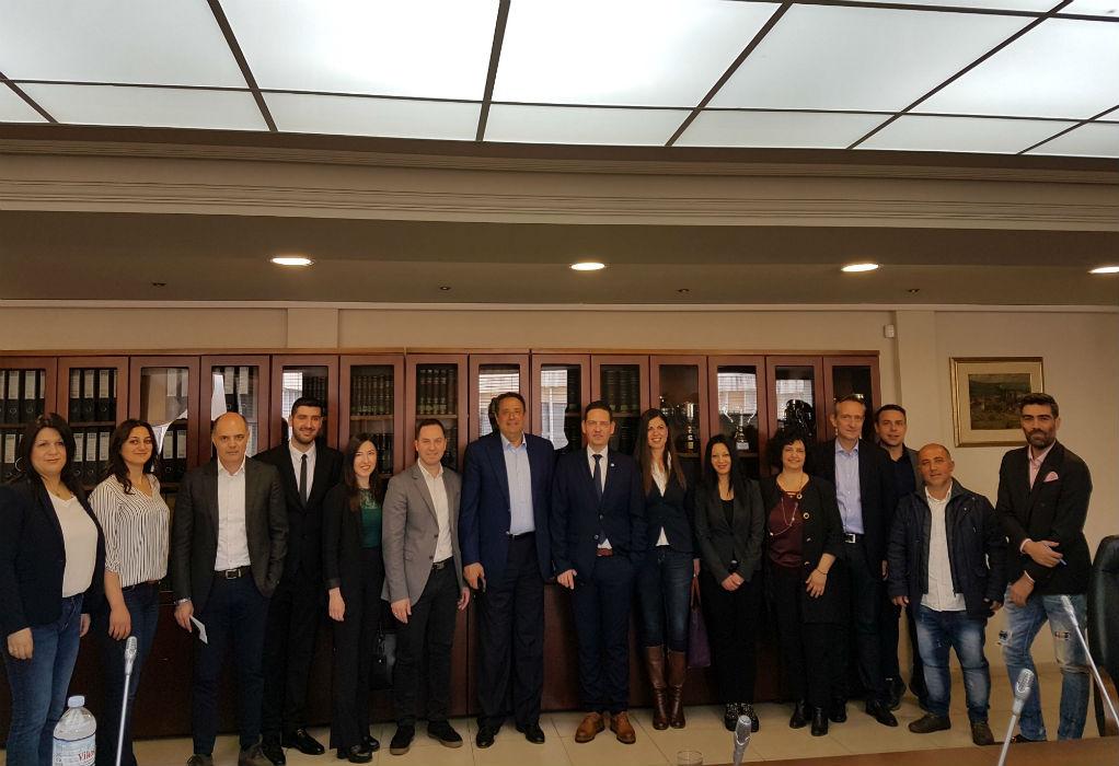 Επίσκεψη Καμαρινού στον Δικηγορικό Σύλλογο Θεσσαλονίκης