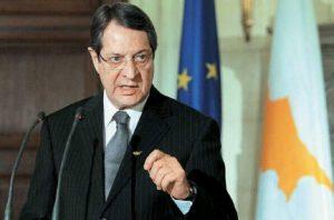 Ο Αναστασιάδης ενημέρωσε τον Τουσκ για τη νέα παράνομη επέμβαση της Τουρκίας στην κυπριακή ΑΟΖ