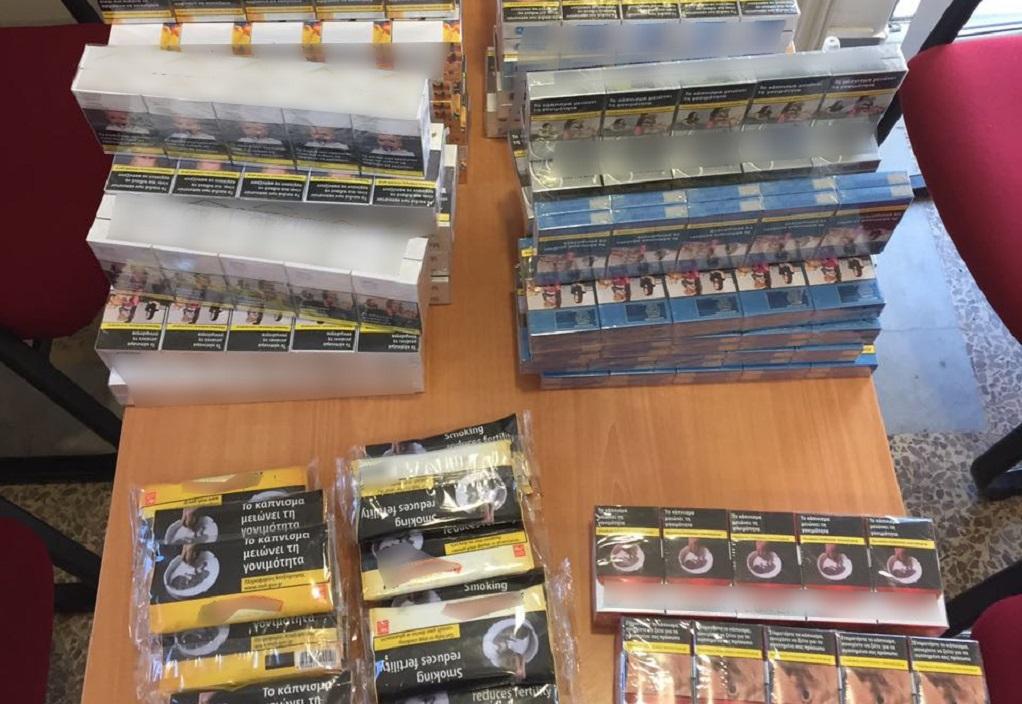 Συνελήφθη με περισσότερα από 600 πακέτα λαθραίων τσιγάρων
