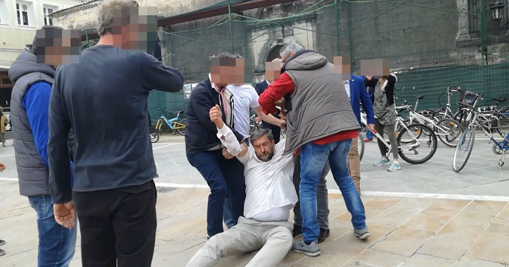 Επεισόδιο κατά πολίτη στη Λευκάδα λόγω… Τσίπρα (VIDEO)