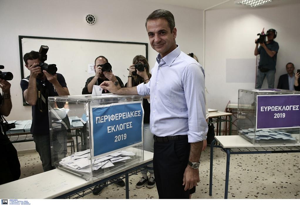 Στο 1ο Γενικό Λύκειο Κηφισιάς θα ψηφίσει ο Κ. Μητσοτάκης
