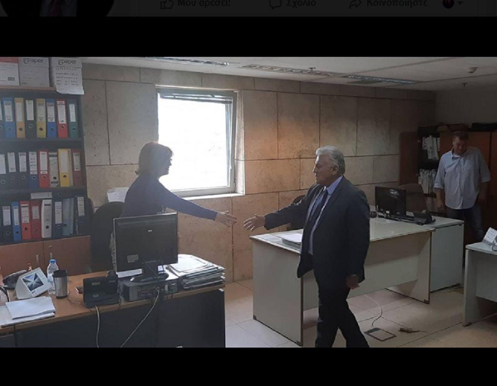 Ο Π. Ψωμιάδης επισκέφθηκε το Δημαρχιακό Μέγαρο Θεσσαλονίκης (ΦΩΤΟ)