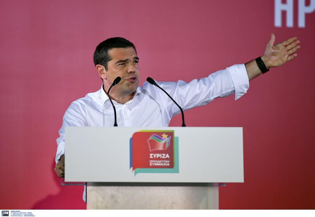 Τσίπρας: Την Κυριακή ψηφίζουμε για το αν θα συνεχίσουμε έξω από τα μνημόνια