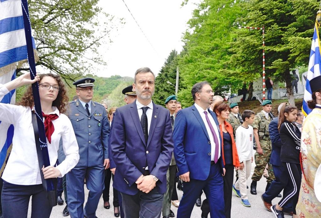 Επίσκεψη και προσκύνημα του Κ. Ζέρβα στην Παναγία Σουμελά