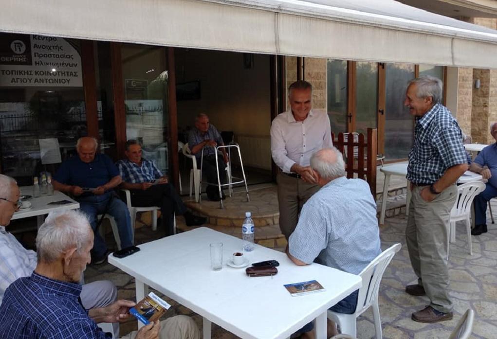 Σε Βασιλικά, Αρέθουσα και Βερτίσκο ο Σ. Αναστασιάδης (ΦΩΤΟ)