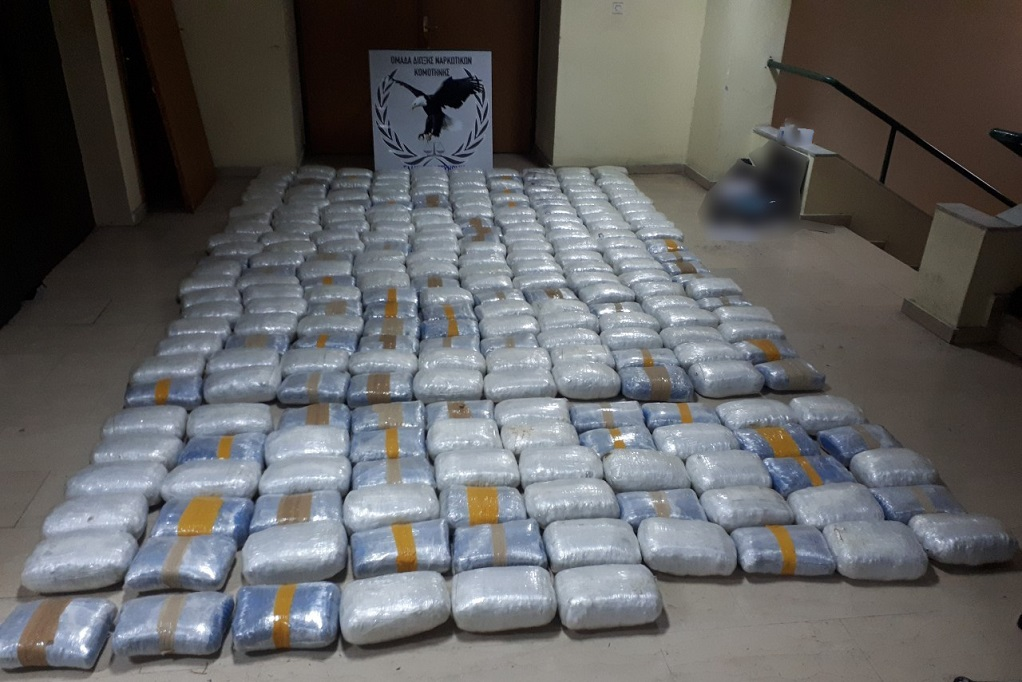 Γρεβενά: Συνελήφθη για κατοχή 270 κιλών κάνναβης