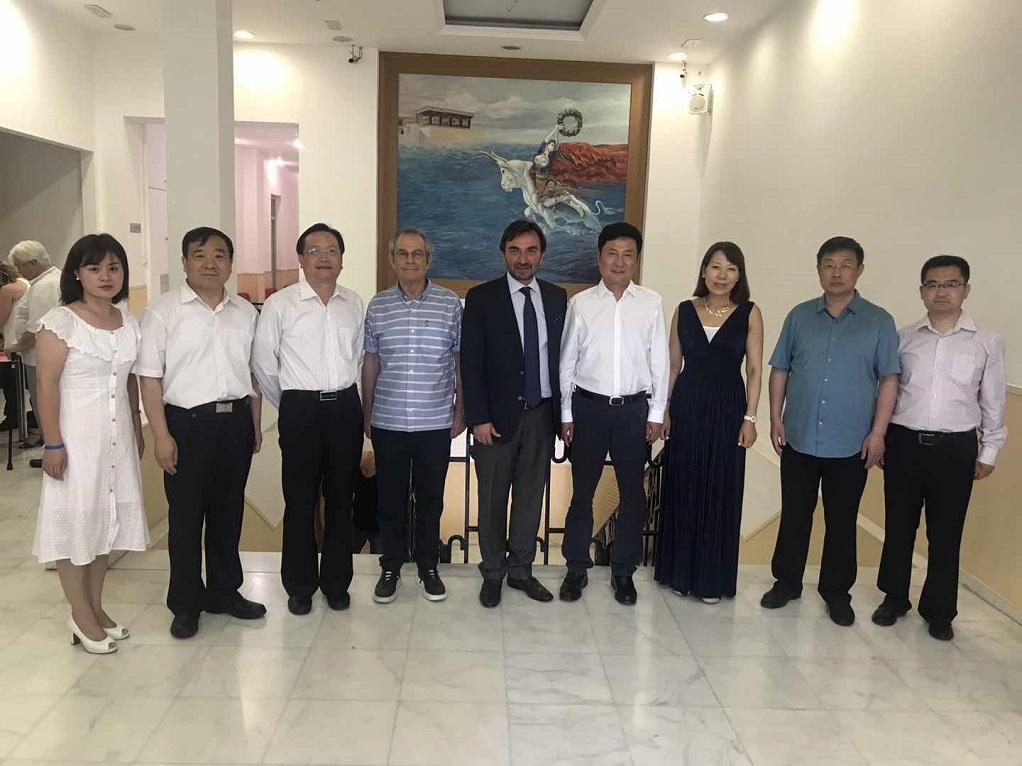 Κινεζική αντιπροσωπεία στη Περιφέρεια Κρήτης (ΦΩΤΟ)