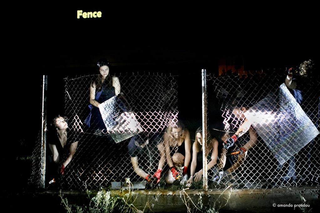 «Έπεσε» ο φράχτης στο Μέγαρο Μουσικής Θεσσαλονίκης (ΦΩΤΟ-VIDEO)