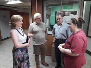 Η Νιόβη Παυλίδου στο Νοσοκομείο «Γ. Γεννηματάς»: Θα είμαστε κοντά σας για να δώσουμε λύσεις στα προβλήματα της Υγείας