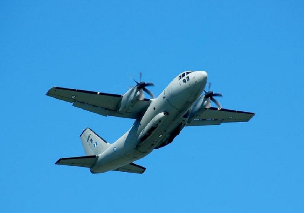 Αεροδιακομιδή 5χρονου στην Ιταλία από την Πολεμική Αεροπορία