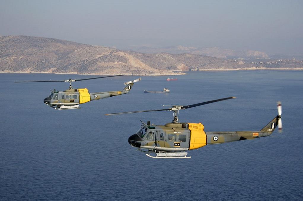 Αεροδιακομιδή τραυματία από πλοίο με ελικόπτερο της Π.Α.