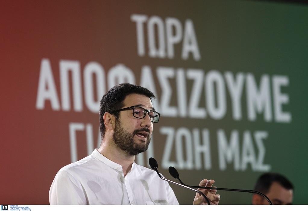 Ηλιόπουλος: 10.000 νέες προσλήψεις στον τομέα της Υγείας – 15.000 στην Παιδεία