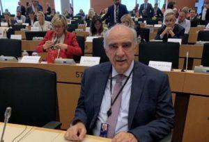 Ανάθεση του ελέγχου των οικονομικών της ΕΕ στον Β. Μεϊμαράκη
