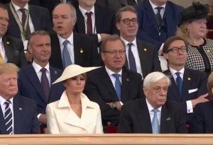 Ο Π. Παυλόπουλος δίπλα στη Μελάνια Τραμπ (VIDEO)