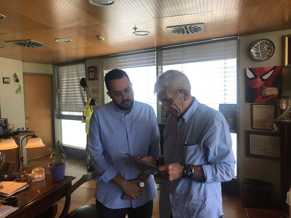 Ορκίστηκε δημοτικός σύμβουλος ο Ε. Ελευθεριάδης (ΦΩΤΟ – VIDEO)