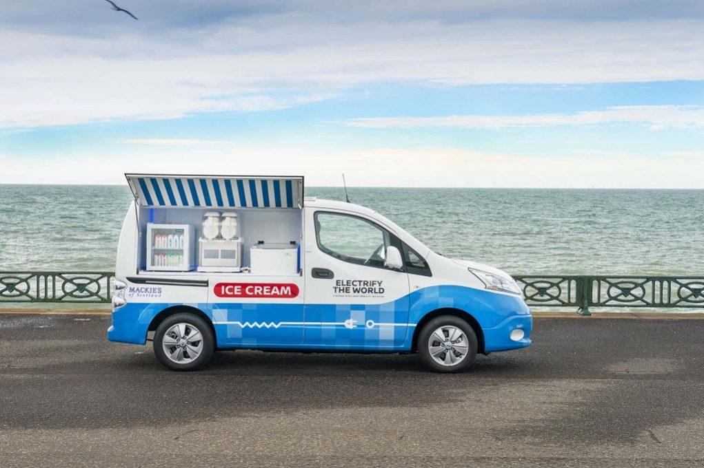 """Η Nissan αποκαλύπτει το πρωτότυπο μηδενικών ρύπων """"παγωτατζίδικο"""""""