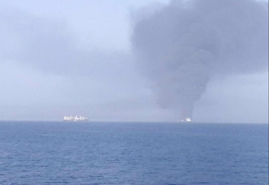 ΗΠΑ για επίθεση στον Κόλπο του Ομάν: Το Ιράν δείχνουν δαχτυλικά αποτυπώματα και νάρκη