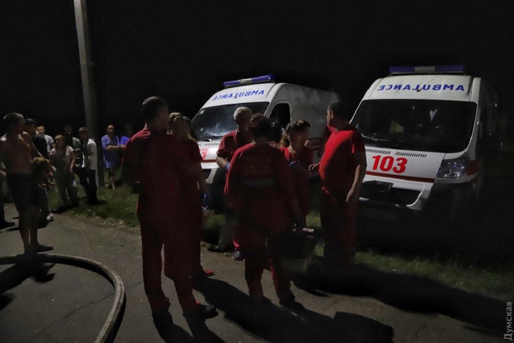 Πυρκαγιά σε ψυχιατρική κλινική στην Οδησσό-Έξι νεκροί