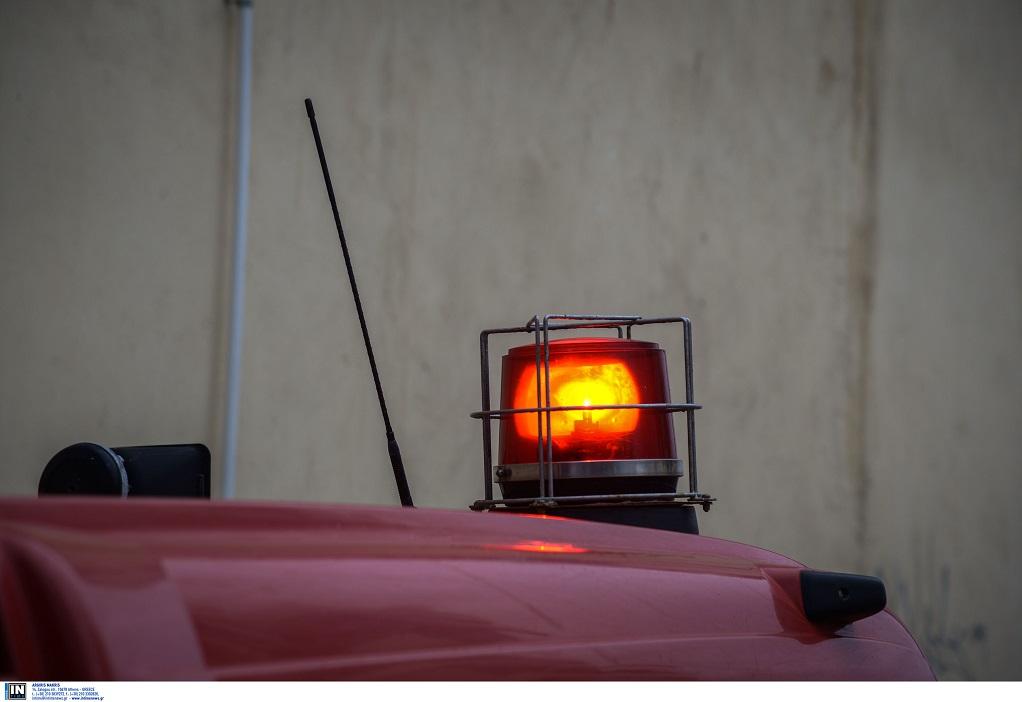 Ηράκλειο: Φωτιά σε εγκαταλελειμμένο κτίριο